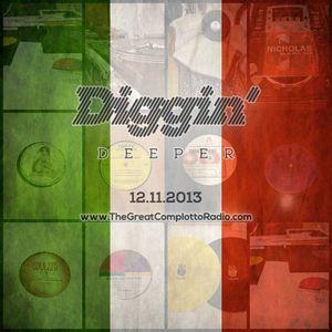 Diggin'Deeper 12 novembre 2013