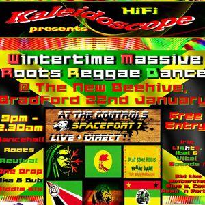 Spaceport7 Roots Dance Mix - Wintertime Massive Roots Reggae Dance 2016