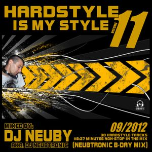 DJ Neuby aka. Neubtronic - Hardstyle is my Style Vol.11 (Neubtronic B-Day Mix) 09.2012