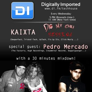 "Pedro Mercado presents ""Dig My Chili"" (DI Tech House Radio Session - May'12)"