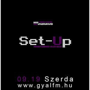 Set-Up @ Gyál Fm by Andrew Coaster