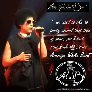 Average White Band in Words & Music: Intro-by-Prince Mix