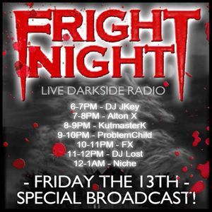 Fright Night Radio Friday 13th - DJ Lost