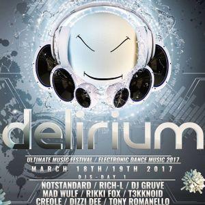 Delirium Music Festival - MAD WULF
