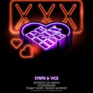 PEROXIDE - SYNTH & VICE @ Wonderland Club