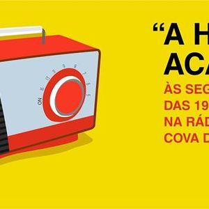 A Hora da Academia na Rádio Cova da Beira. 27 abril 2015