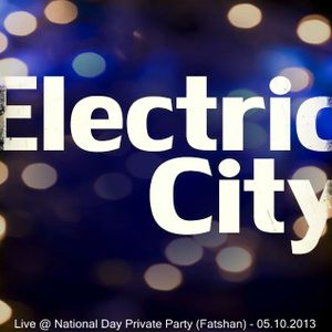 Ricky Tsang - Electric City Live @ National Day Private Party (Fatshan) - 05.10.2013