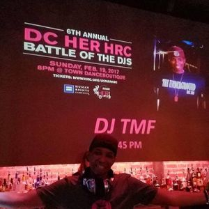 2017 Her HRC DC  ( Human Rights Campaign ) DJ Battle!