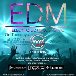 Electronic Dance Music 16-03 By DjGuanche for RadioVideoMusic