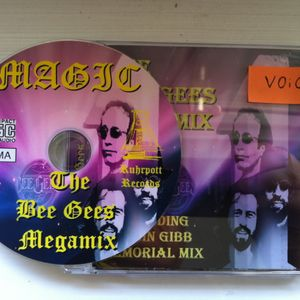 The Bee Gees Megamix Bootleg - DJ Magic (Ruhrpott Records)