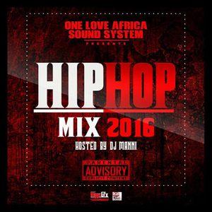 DJ MANNI HIP - HOP MIX VOL.5 2016