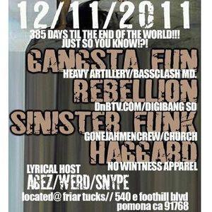 Haggard - Live @ Church (Birthday Set)