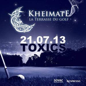 Toxics live @Kheimate La Terrasse Du Golf. 21/07/2013