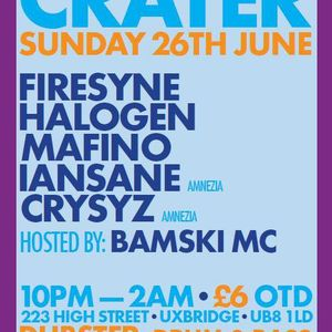 Official PROMO Mix for Crater: Dubstep & DnB Night in Uxbridge on 26th June