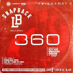 DJ360 LIVE at Snapback