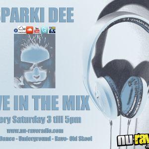 Nu Rave Radio - Sparki Dee Live Mix - Drum n Bass & Happy Hardcore Set - 18th Aug 2012