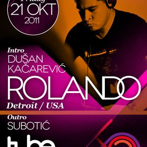 Dusan Kacarevic part 3 live mix from The Tube club 21/10/2011