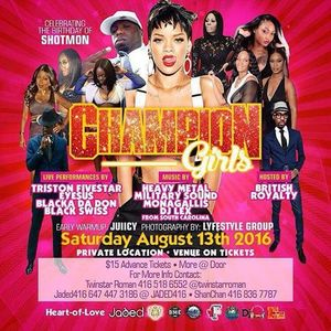 Champion Girls Party Promo Mix 8.13.16