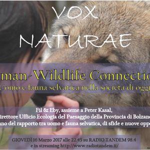 Human_wildlife Connections (con Peter Kasal - Provincia di Bolzano) (16 Marzo 2017)
