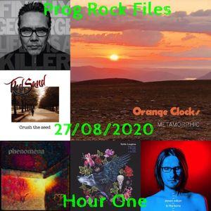 Prog Rock Files 27/08/2020 Hour One
