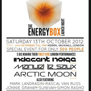 Indecent Noise - Live @ Trance Together - The Energy Box (13-10-2012)