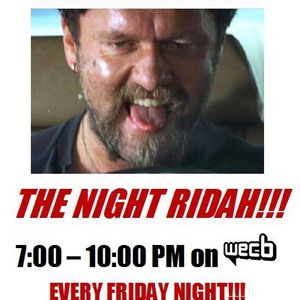 The Night Ridah!!! with guest Robert Ferent, August 24th, 2012