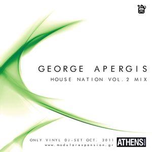 George Apergis_2011_House Nation volume 2_ vinyl Mix
