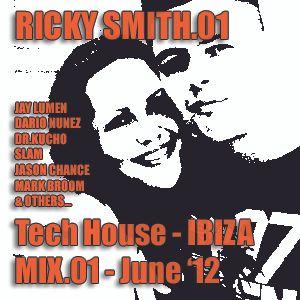 Ricky Smith - Tech House Mix (June 2012)