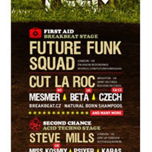 Cut La Roc Live DJ set at Soundfeer 26th June 2010 Prague