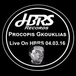 Procopis Gkouklias Live On HBRS 04-03-16