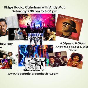 Andy Mac on Ridge Radio 27th June 2015