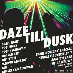Jamski Experimental LIVE@DazeTillDusk 26/8/2012
