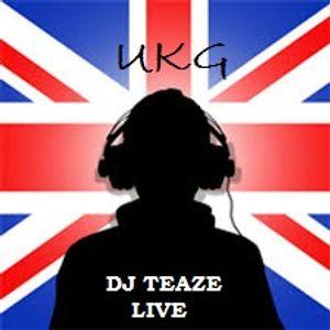DJ TEAZE .. LIVE UKG FLAVAS ON NU-PERCEPTION RADIO 11-9-2016