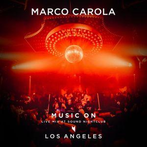 Live at Sound Nightclub - Los Angeles, February 24 2017