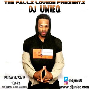 Dj UnieQ Falls Lounge 6/23/17