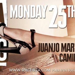 Baggi Begovic - Live @ Ibiza Calling, Space Ibiza, Espanha (25.06.2012)