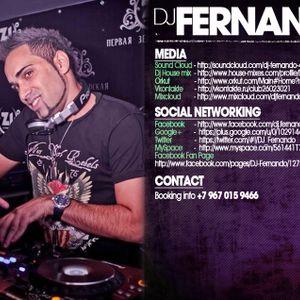 DJ FERNANDO FEEL THE HOUSE BEAT'S MAY 2012