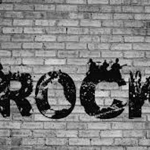rock by burning head