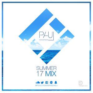 Paul Henderson Presents Summer Mix 0717 (Hip Hop / R&B / UK / House)