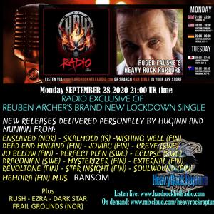 Heavy Rock Rapture 28 Sept 2020