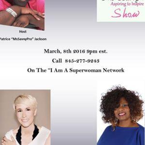 The MsSavvyProShow Host Patrice Jackson & Guest Diane Linston  Daniella Shachter