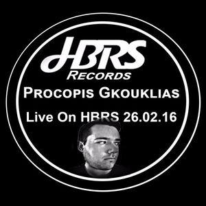 Procopis Gkouklias Live On HBRS 26-02-16