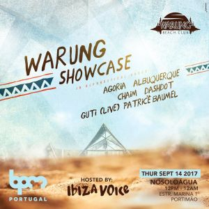 Patrice Baumel - live at Warung (BPM Portugal 2017) - 14-sep-2017