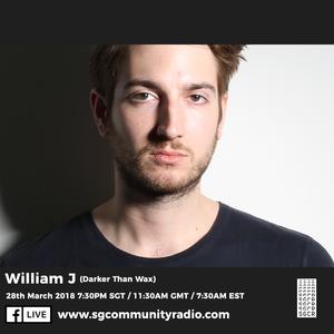 SGCR Radio Show #48 - 28.03.2018 Episode Part 1 ft. William J (Darker Than Wax)