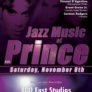 Jazz Music Of Prince Selection