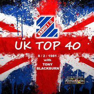 Radio 1 Top 40 - Tony Blackburn - 8-2-1981