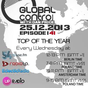 Dan Price - Global Control Episode 141 (25.12.13) Top Of The Year
