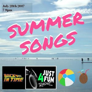 July 2017 Back in time show on Just4fun radio