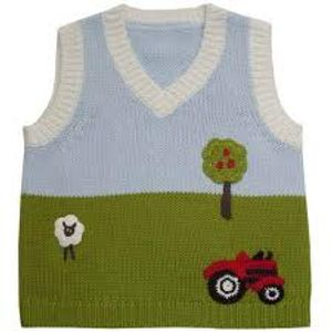 Music to knit a tank-top to