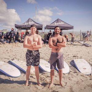 Mike And Of Locals Surf School In Rockaway